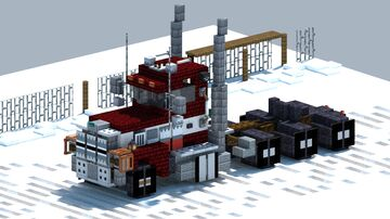 Ford LTL 9000, truck [With Download] Minecraft Map & Project