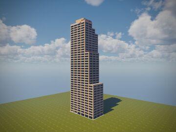 Simmons Bank Tower // ERT Minecraft Map & Project