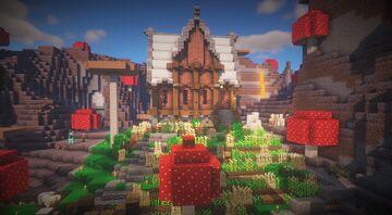 """""""A tent"""" - kimandjax Minecraft Map & Project"""
