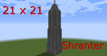 Stone Tower 21x21 - Shranter Minecraft Map & Project