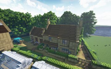 Gibson & Sons, Edensor Minecraft Map & Project