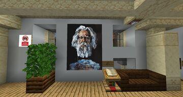 Colourmatic - Louvre Art Gallery + Paris Minecraft Map & Project