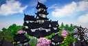 Japanese castle - Shirokuro | + village, survival