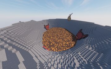 Arena Map > volcano Devil Minecraft Map & Project