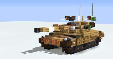 Merkava Mk.2 Israeli MBT Minecraft Map & Project