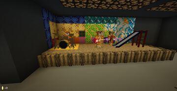 The Banana Splits: Sloppy Nights Minecraft Map & Project
