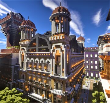 National library of Heliopolis Minecraft Map & Project