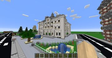 Town Hall / Hotel de Ville Minecraft Map & Project