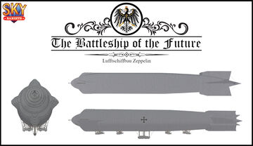 The Battleship of the Future (from the film 'Gunbus / Sky Bandits') Minecraft Map & Project