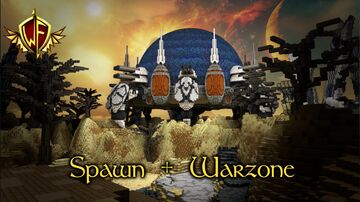 Spawn + Warzone Minecraft Map & Project