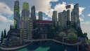 SolarPunk Future Map Minecraft Map & Project