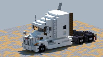 Peterbilt 579, truck [With Download] Minecraft Map & Project