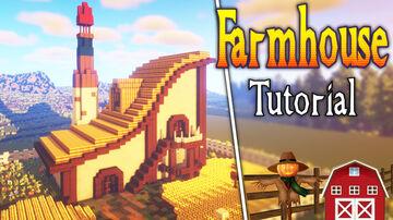 minecraft farmhouse design. Minecraft Map & Project