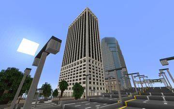 55 Water Street Minecraft Map & Project