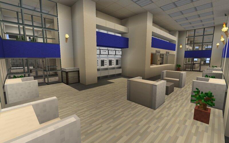 Chase Bank lobby branch