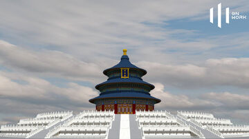 Temple of Heaven, Imperial Beijing Minecraft Map & Project