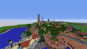Help Wanted! Universal Studios Orlando, Disneyland, and Hollywood Studios! Minecraft Map & Project