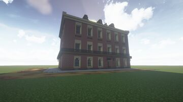House RDR2. Saint Denis. Minecraft Map & Project