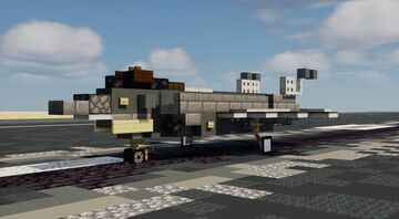 F-35A Lightning II - 1:1 Scale Minecraft Map & Project