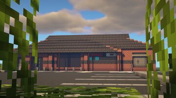 Tesco Express [SCHEMATIC + DOWNLOAD] Minecraft Map & Project