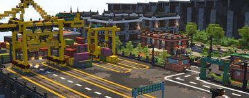 Cloud City Minecraft Map & Project