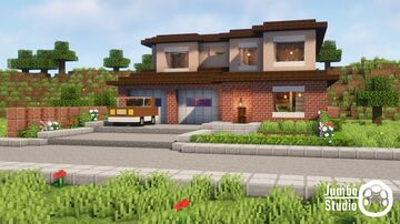 A Modern House - 06 Minecraft Map & Project