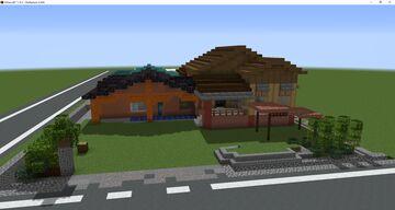 Malaysian Village House Minecraft Map & Project