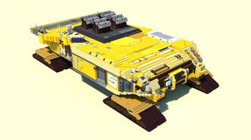 Artillery Cruiser Minecraft Map & Project