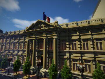 Berlin, Friedrichstadt | German Empire Minecraft Map & Project