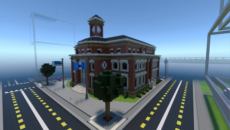 The RTX Resource Pack needs some modifications to fit the City Texture Pack