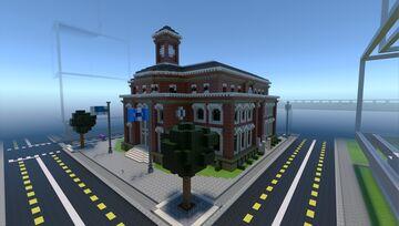 Lazulilopolis Municipal Library Minecraft Map & Project