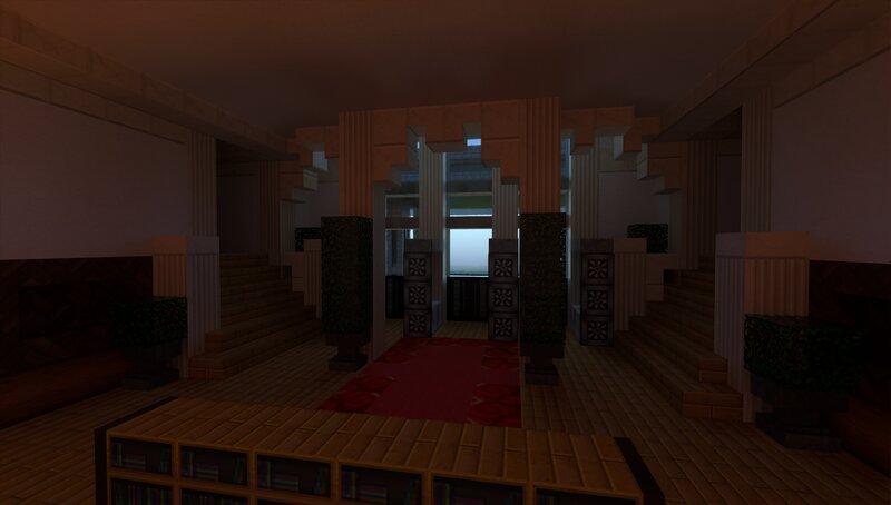 Back foyer.