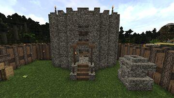 Donjon Eldorman Minecraft Map & Project