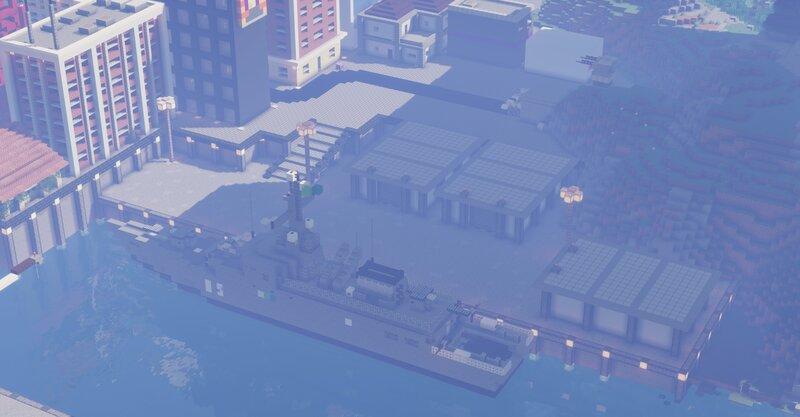 Naval Port in Capital