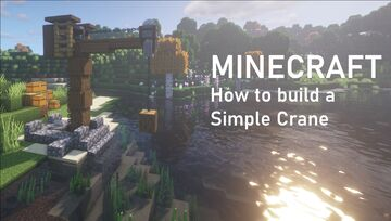 Simple Mediaval Crane Minecraft Map & Project