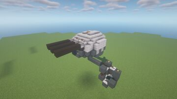 DHT -  Adjustable Trajectory TNT Cannon ( Scattershot | Twin Cannon | Movecraft Compatible ) Minecraft Map & Project