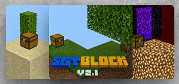 Classic Skyblock v2.1. Minecraft Map & Project