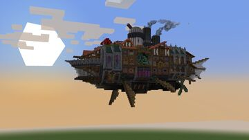Airship city Minecraft Map & Project