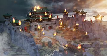 Chinese Gate Minecraft Map & Project