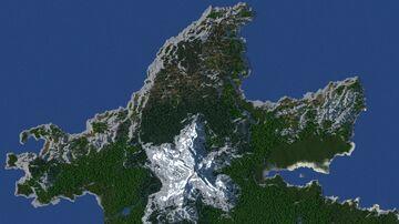 The Island of Númenor (WorldPainter Terrain) Minecraft Map & Project