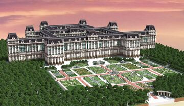 Huge Palace Minecraft Map & Project