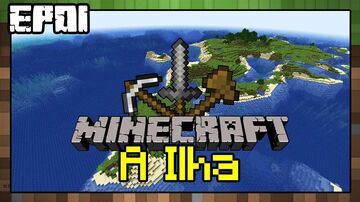 Ilha De Sobrevivencia : Survival Island Minecraft Map & Project