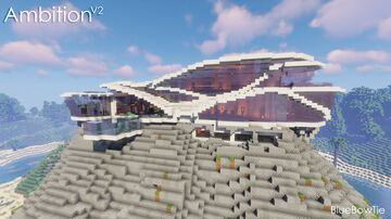 Ultimate Modern Mansion - Project Ambition v2 Minecraft Map & Project