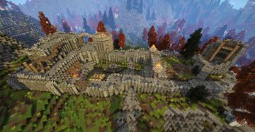 Fort Greenwall (Skyrim TES) Minecraft Map & Project
