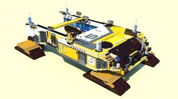 Support Cruiser Minecraft Map & Project