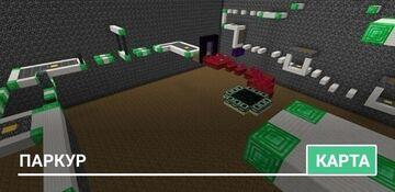 Паркур карта для всех видов Майнкрафтеров. Minecraft Map & Project