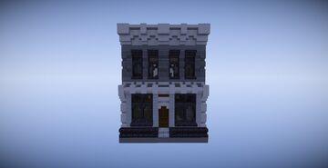 Modular City 16x16 Bank Minecraft Map & Project