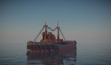 Ayan Soviet Tugboat Minecraft Map & Project