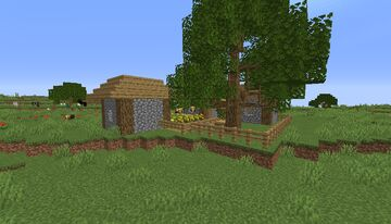 Farmer's Delight Plain's Map Minecraft Map & Project