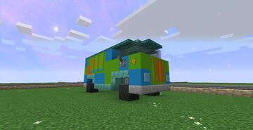 The Mystery Machine from Scooby Doo!!! 1.16.5 Minecraft Map & Project